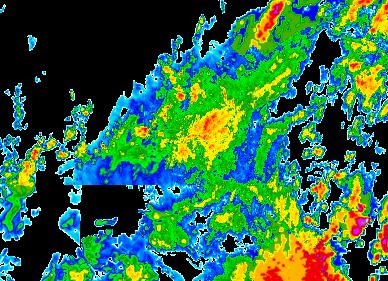 Aktueller Radarfilm - Österreich