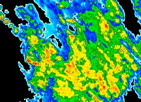 Aktueller Radarfilm - Oberösterreich