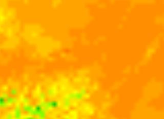 Temperatur Vorhersagekarte - Niederösterreich