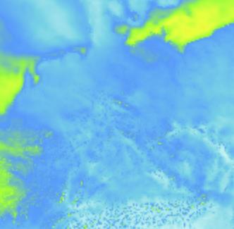 Sturm Vorhersagekarte - Deutschland